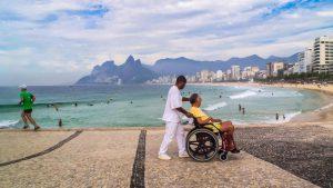 L'OSS come assistente turistico per persone disabili